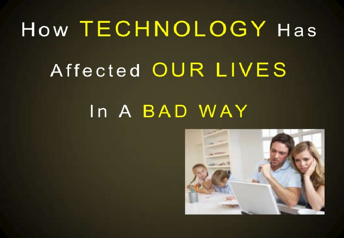 Technology is Affecting our Lifestyle